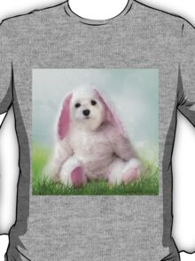 Snowdrop the Maltese - Dressing Up for Easter ! T-Shirt