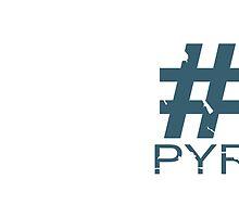 Pyro Mug Design (BLU) by TornadoTwist