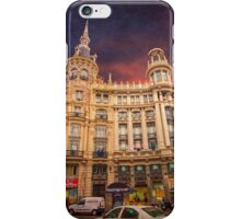 plaza canalejas. madrid iPhone Case/Skin