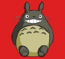 Totoro (shaded) One Piece - Long Sleeve