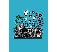 Roma flying hearts Photographic Print