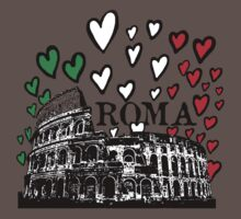 Roma flying hearts Kids Clothes