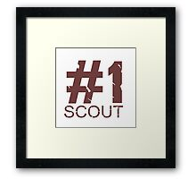 Scout Mug Design Framed Print