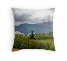 Derwentwater Lake District Throw Pillow