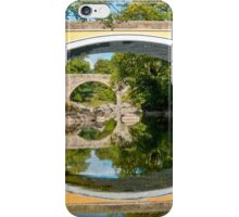 Bridges cross the Lune iPhone Case/Skin
