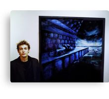 Paul With Precious Things Canvas Print