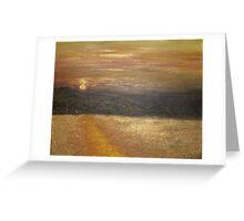 Kefalonia Sunset Greeting Card