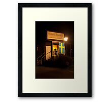 Ghostly Chronicle - LOOK CLOSELY Framed Print