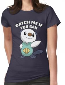 try to get this pokemon Womens Fitted T-Shirt