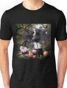 Snowdrop the Maltese - Hubble Bubble at Halloween ! Unisex T-Shirt