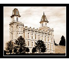 Manti LDS Temple Photographic Print