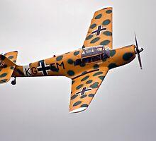 """Messerschmitt Bf108 """"Taifun"""" by Peter Lawrie"""
