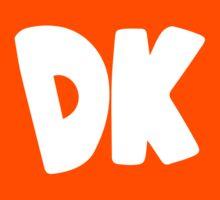 Donkey Kong Symbol - Super Smash Bros. (white) Kids Clothes