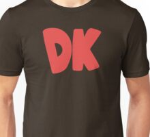 Donkey Kong Symbol - Super Smash Bros. (color) Unisex T-Shirt
