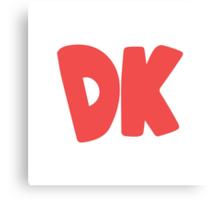 Donkey Kong Symbol - Super Smash Bros. (color) Canvas Print