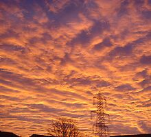 Sunrise in Central Scotland by cheesypuffs