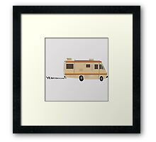 THE CRYSTAL SHIP Framed Print