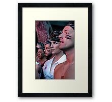 Mardi Gras Soldiers 2008 Framed Print