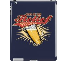 Send In The Relief Pitcher iPad Case/Skin