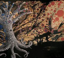 Octopus Tree in a Circle Storm by Chelsea Kerwath