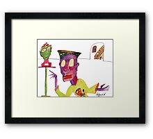 Art Admirer Framed Print