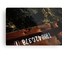 container Metal Print