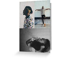 Flatbush Zombies Meechy and Juice Greeting Card