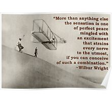 More Than Anything Else - Wilbur Wright  Poster