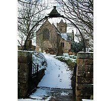 Easington Church--North Yorks Photographic Print
