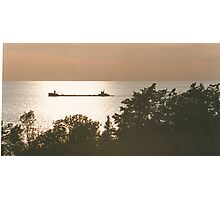 Tramp Freighter Photographic Print