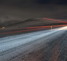 Highway in the middle of nowhere! by Gaurav Dhup