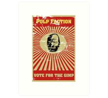 Pulp Faction - The Gimp Art Print