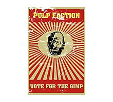 Pulp Faction - The Gimp Photographic Print