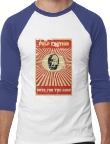 Pulp Faction - The Gimp Men's Baseball ¾ T-Shirt