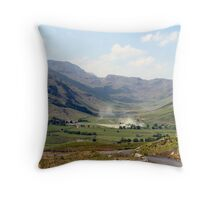 Smoke in the Hills! Throw Pillow