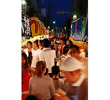 Japanese Festival  Photographic Print