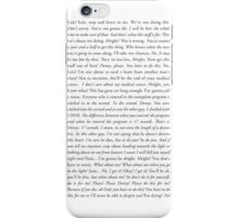 "Grey's Anatomy - ""What about me?!"" iPhone Case/Skin"