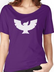 Captain Falcon Symbol - Super Smash Bros. (white) Women's Relaxed Fit T-Shirt