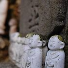 Japanese little budda by swivalimages