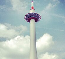 Kyoto Tower by Rob Price