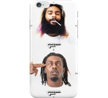 Clockwork Indigo - Meech and Juice FBZ iPhone Case/Skin