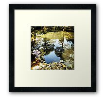 Reflections on Kyoto Framed Print