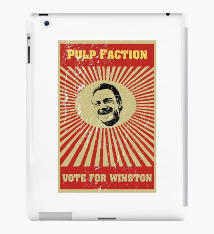 Pulp Faction - Winston iPad Case/Skin