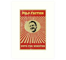 Pulp Faction - Winston Art Print