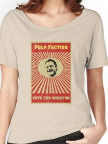 Pulp Faction - Winston Women's Relaxed Fit T-Shirt