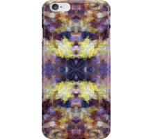 Abstract Mosaic in Yellow Blue Purple iPhone Case/Skin