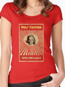 Pulp Faction - Lance Women's Fitted Scoop T-Shirt