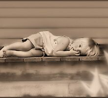 The Front Porch Sepia by HGB21