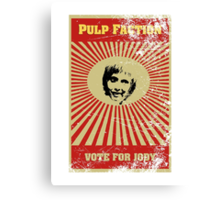 Pulp Faction - Jody Canvas Print