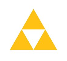 The Legend of Zelda Symbol - Super Smash Bros. (color) by hopperograss